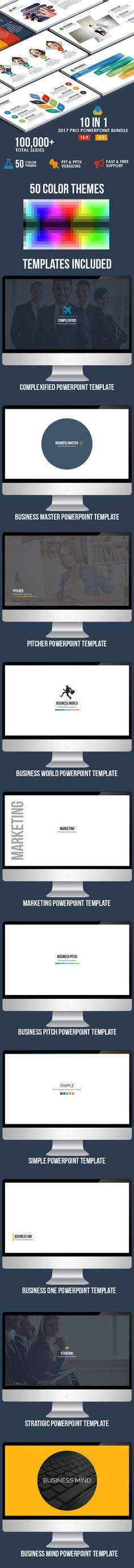 10 IN 1 - 2017 Pro Powerpoint Bundle