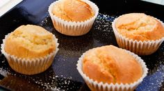 Magdalenas sin azúcar - RTVE.es Diabetic Recipes, Cooking Recipes, Healthy Recipes, Cupcakes, Sin Gluten, Stevia, Sugar Free, Cheesecake, Yummy Food