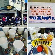 Veloso Bar - Um clássico paulistano.🍗🍗🍗🍻🍻🍻🍻 Coxinha #veloso #saopaulo
