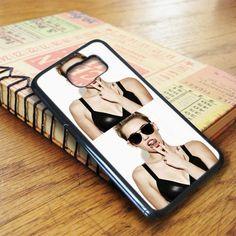 Black Miley Cyrus Samsung Galaxy S7 Case