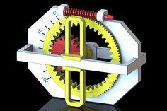 Regulable Slider-Crank Mechanism - STEP / IGES - 3D CAD model - GrabCAD