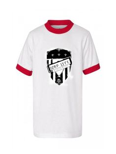 Lord Lyfe Co. Loyalty Brand Ringer Tee ~   White/Red      ***       Find it Now @  www.LordLyfe.com