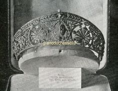 When Princess Alexandra of Fife married Prince Arthur of Connaught on October 15,1913, she was given this tiara by George V and Queen Mary.