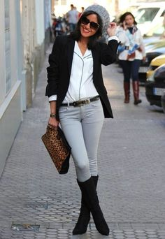 18 Stylish Outfits With Long Blazers - Fashion Diva Design