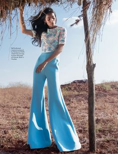 visual optimism; fashion editorials, shows, campaigns & more!: summer kind of wonderful: nidhi sunil by porus vimadalal for verve india march 2015