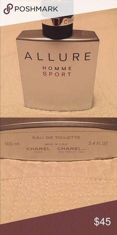 Allure Homme Sport cologne by Chanel Brand new bottle of men's cologne! 3.4 oz EAU DE TOILETTE. CHANEL Other