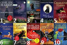 sookie stackhouse series in order - Google Search