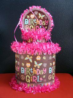 World of Pinatas - Owl Birthday Girl Pinata, $27.99 (http://www.worldofpinatas.com/owl-birthday-girl-pinata/)