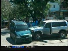 Accidente De Transito En La Villa Olimpica Santiago #Video