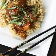 Slow-Cooker Honey Sesame Chicken