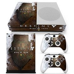 Xbox One S Console Skin Decal Sticker Destiny Rise Of Iron 2 Controller Skins Set -- Visit the image link more details. Note:It is affiliate link to Amazon. #XboxVideoGames