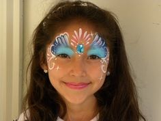 PINTACARITAS PARA NIÑA . FACE PAINTING . - YouTube                                                                                                                                                                                 Más