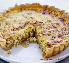 This tart is luscious and tasty, there's very little shopping involved and everyone seems to love it from BBC Good Food Savory Pastry, Shortcrust Pastry, Savory Tart, Savoury Pies, Caramelised Onion Tart, Caramelized Onions, Onion Recipes, Tart Recipes, Savoury Recipes