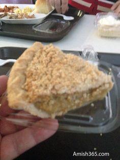 Amish Vanilla Crumb Pie