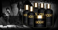GO 247: A collection of expertly-formulated shampoos, conditioners, styling and skincare products for men, developed by the makers of @UNITE Hair.