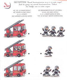 KA: Variatie opdracht: In elke brandweerwagen mogen er 4 brandweermannen. Hoeveel mogen er nog bij?