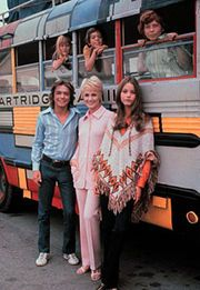 One My Favorite 1970's TV Shows- The Partridge Family with hunky David Cassidy.