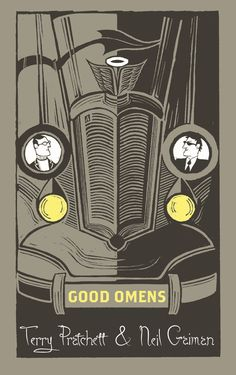 Good Omens by Sir Terry Pratchett & Neil Gaiman. Artwork by Joe McLaren.