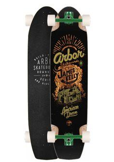 "Arbor James Kelly 38.5"" Pro Model Longboard - Home » Skate &raqu"