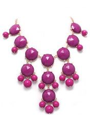 Pink Sunday Necklace - Modeets.com