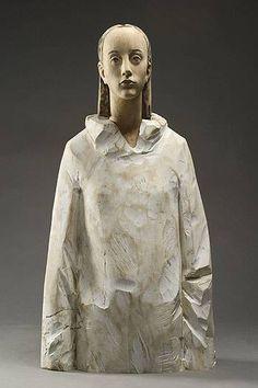 Aron Demetz, wood sculpture