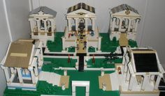 My Lego temple complex by Anthony-Callaghan.deviantart.com on @deviantART