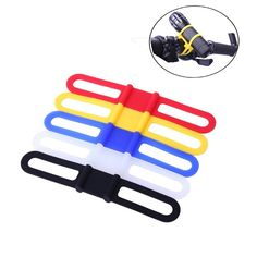 High Strength Rubber Band Elastic Bandage Bicycle Light Mount Flashlight Bands G