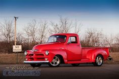 1954 Chevrolet 3600 Pickup by Custom Classics in Lancaster CA . Click to view more photos and mod info.