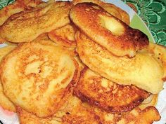 Tvarohové lievance Pancakes, French Toast, Cooking Recipes, Breakfast, Easy, Diet, Morning Coffee, Pancake