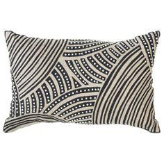 Rake Natural Lumbar Throw Pillow