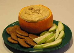 Easy Pumpkin Dip/ I served with ginger snaps, vanilla wafers, graham crackers, and apples