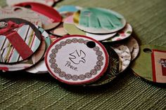 Love You Deer: Recycled gift tags