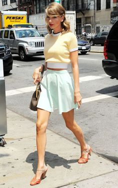 Taylor Swift steps out in New York, America - 1 July 2014