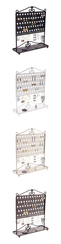 Earring 168161 Large Earring Holder Wall Jewelry Organizer Hanging