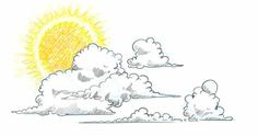 No more boring skies! Learn How to Draw Clouds Step by Step in this free online art lesson. Draw a cloudscape by adding the sun and coloring in a crystal blue sky. Did you know, clouds have their own appreciation society! Sketch Cloud, Cloud Drawing, Drawing S, Cloud Art, Illustrations, Illustration Art, Pencil Drawings, Art Drawings, Cartoon Clouds