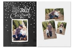 Holiday Cheer Card Templates by Jamie Schultz Designs