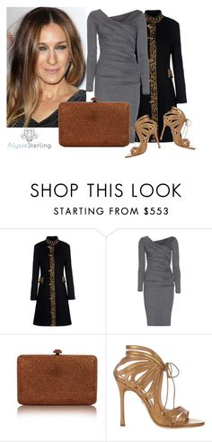 """SHOP - Alysse Sterling"" by alyssesterling ❤ liked on Polyvore featuring Sarah Jessica Parker, Alberta Ferretti, Diane Von Furstenberg and Chelsea Paris"