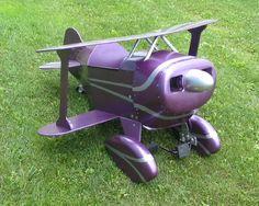 Purple Pedal Plane
