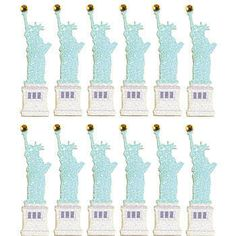 Statue of Liberty Dimensional Stickers  #LibertarianParty
