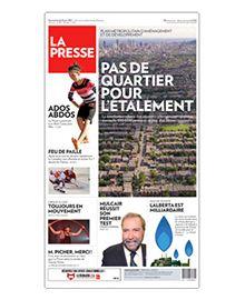 La Presse - septembre 2014