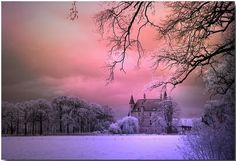 "fairyflutters: ""~Winter Castle """