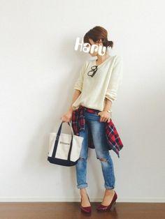 Bershkaのシャツ・ブラウスを使ったHaru☆のコーディネートです。WEARはモデル・俳優・ショップスタッフなどの着こなしをチェックできるファッションコーディネートサイトです。