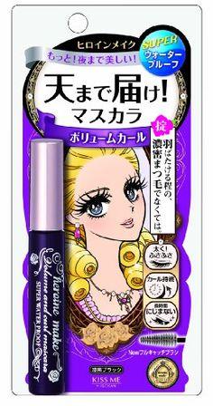 Heroine Make / Volume and Curl Mascara Super WP Black 6g ... https://www.amazon.com/dp/B00INJ7ULW/ref=cm_sw_r_pi_dp_x_S-W-ybHZ8J1D6