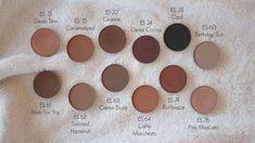 Review, swatches and dupes of my Morphe Brushes single eyeshadows.