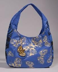 29fa63f747 Authentic Ed Hardy Blue Pia Handbag