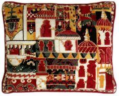 Ehrman Designer ANNABEL NELLIST Tapestry chart PATTERN MYSORE CUSHION FRONT uk.picclick.com