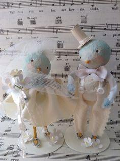 Wedding bluebirds