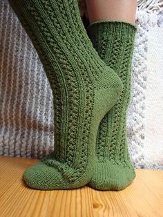Ravelry: Double Lace Ribbing pattern by Charlene Schurch
