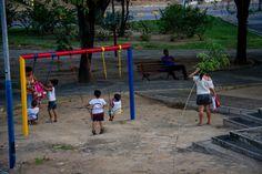 Lugar de criança é na praça \o/ - Praça Gonçalves Ledo