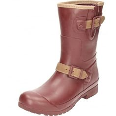 c845608bf4b Ladies Maroon Rubber Wellington Boots These are funky wellies Enhanced with  a warm soft micro fleece lining Good gripping durable sole. Jenny Wren  Footwear